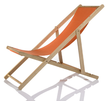 Wooden adjustable Reclining Folding beach Deck Chair