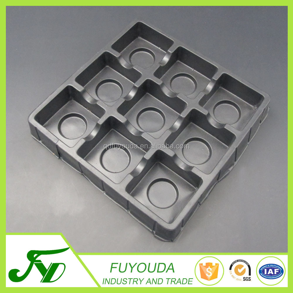 China manufacturer cheapest food grade chocolate plastic box packaging container