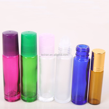 New Product 10ml Clear Glass Roll On Bottle for Essential Oil