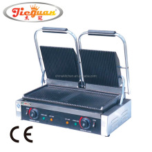 Double Plate Electric Sandwich Press Panini Grill