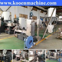 pe pp film granulation line /plastic granulation machines/plastic recycling granulator