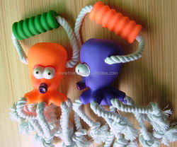 Pet Product Octopus PVC Aniamal Toy