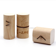 Creative wooden jewelly gift box wooden cosmetic packaging box