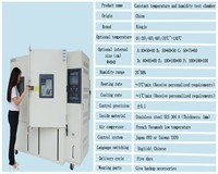 QINZHUOHigh and low temperature heat and humidity test chamber Temperature and humidity cycling test machine
