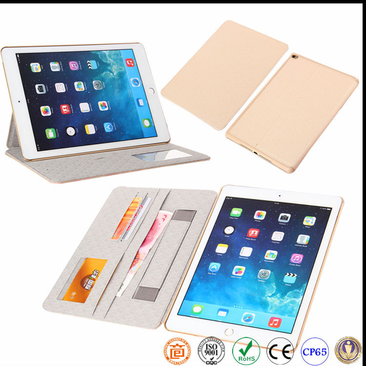 Hot selling leather case for ipad all series mini pro