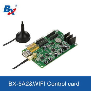 BX-5A2&WIFI led wireless control card dot matrix display