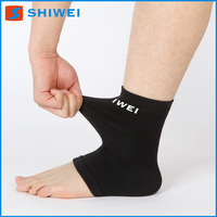Black high aircast quality metal ankle brace for work