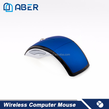 2.4Ghz Computer Mice OEM Wireless Arc Foldable Mouse