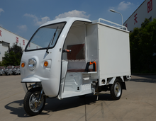 Express Delivery three wheel Cargo bike electric vehicles with open cabin
