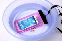 2014 PUDINI accept OEM mobile phone PVC waterproof case for samsung galaxy s4 mini