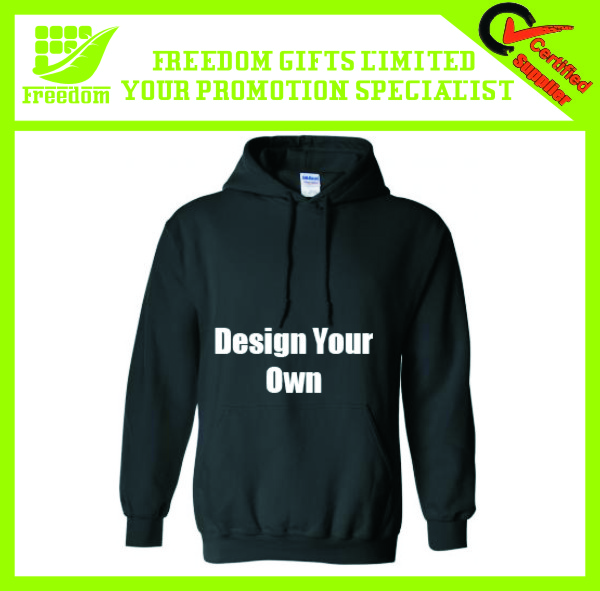 Promotional Cheap Give Away Show Your Logo Custom Man Hoody