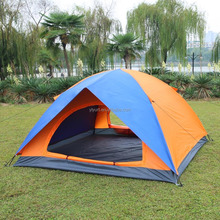 Outdoor Camping Single Layer 6 Person 4X4 Tent For Sale