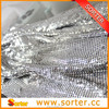 metallic decoration drapery,metallic cloth,metal fabric,metal curtain