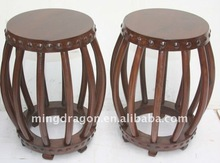 Chinese Beautiful Drum Stool, Pretty Curve
