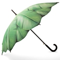 2017NEW invention hot sales green straight umbrella palm leaves for girl