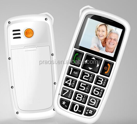 celular charge with cradle / SOS / FM / old people easy use mobile phone