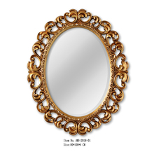 MH-2018-01 Baroque style hanging wall mirror for home decor