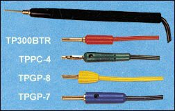 Test Probes - 1mt wire Soft and highly flexible