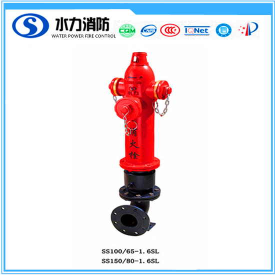 2017 factory direct sale portable type underground used pillar fire hydrant with flange for sale
