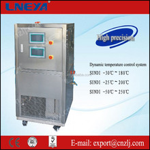 one operating two system chiller unit of dynamic temperature control system
