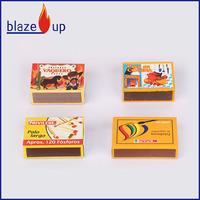 Nigeria excellent quality wooden safety matches from China