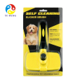 Customized label cat dog grooming combs pet brush grooming comb hair removal dog grooming brush