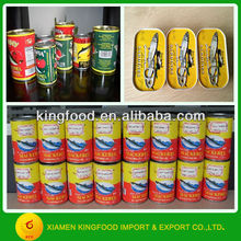 Wholesale canned seafoods food