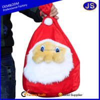 Reusable printed christmas ego bag
