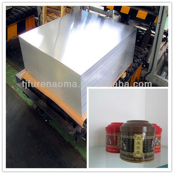Non corrosive metals,jis g3303 spte tin plate for metal tin cans