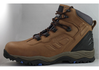 Crazy horse leather Chile model full leather safety boots