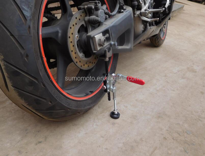 Aluminum lift stick stand motorcycle accessories