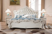 Bed Baroque High Bed Classic Furniture European Style