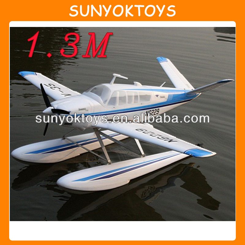 Newest! 1.3M 2.4G 6CH EPO A36 Bonanza beachcraft with retracts landing gears, LED and Flaps,large scale rc airplane