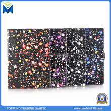 2017 New Arrival Starry Sky Design PU Leather stand flip case for iPad Air 2