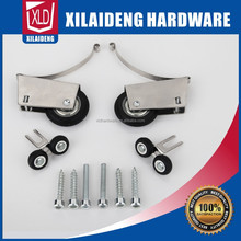 Zinc cabinet sliding Door Roller Assembly,Plastic Wheel, Ball Bearings