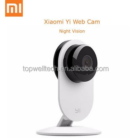 Xiaomi Smart Camera xiaoyi xiaomi yi ants webcam mini 720P IP P2P wifi home security camera