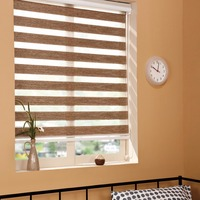 EU Standard Window Curtain Blind Fabric For Manual Zebra Blinds