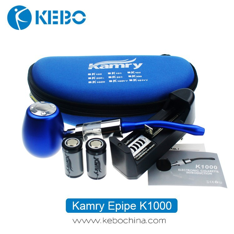Vaporizer smoking pipe China professional e cig factory new arrival Kamry epipe K1000