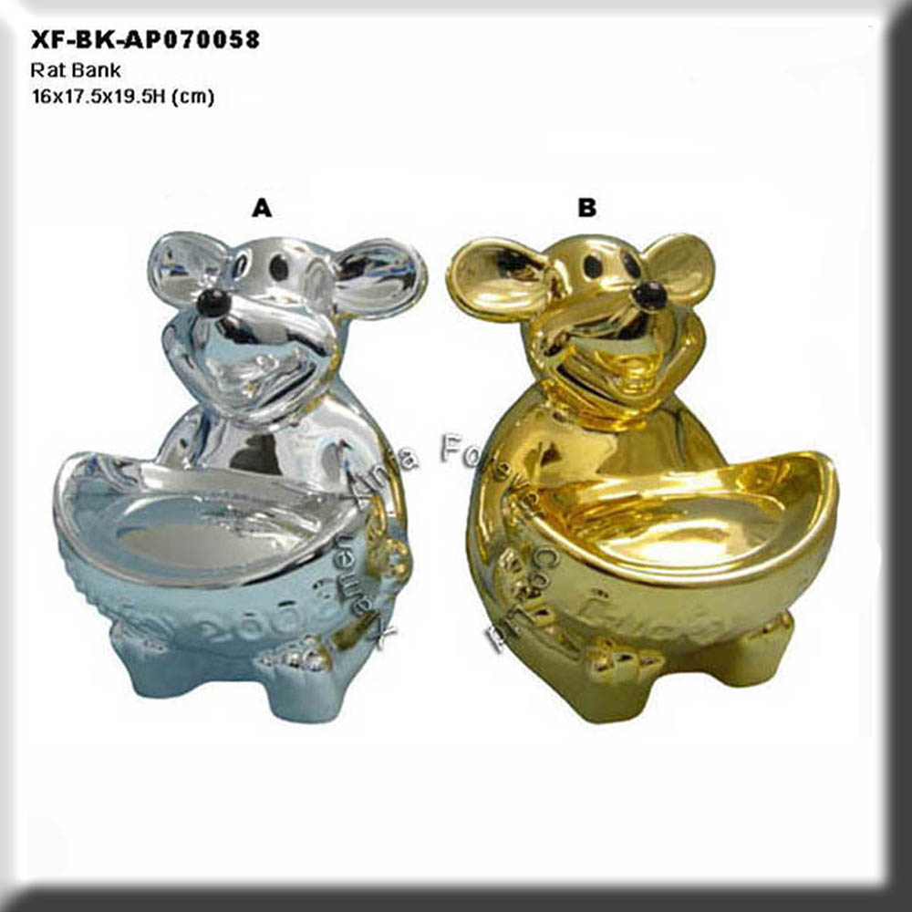 chrome plating ceramic coin saver