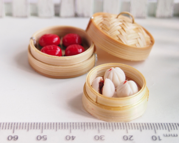 Small Bamboo Baby Food Steamer