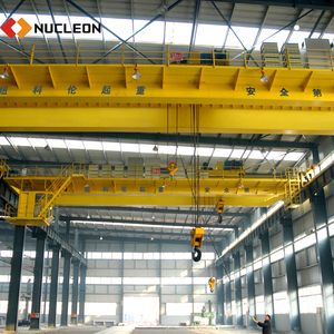 China Factory price low noise double girder beam 50 ton overhead crane price