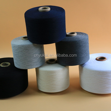 20/1 32/1 cheap wholesale 100ring spun recycled polyester yarn for Knitting socks gloves