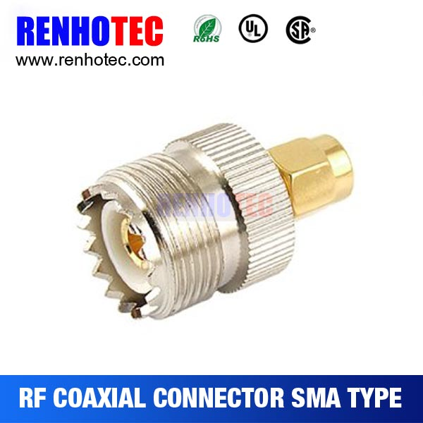 Top Quality SMA male to UHF Female Adapter