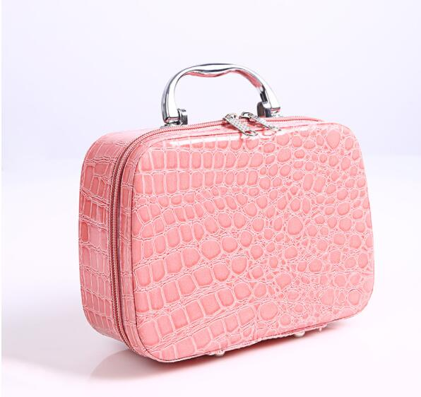 Wholesale fashion cosmetic bag Beautiful makeup bag bags for cosmetics