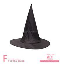 Wholesale black witch mini bulk hat with no printing pattern for halloween party