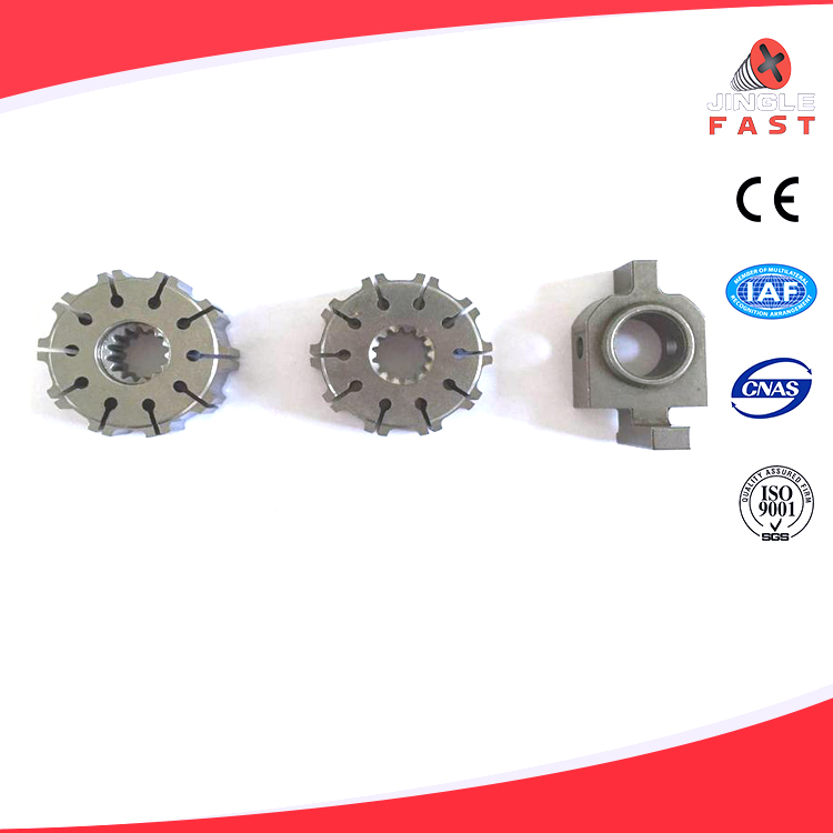Automobile steering pump rotor and gear box parts