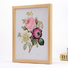 high grade solid wood A4 photo frame picture photo frame