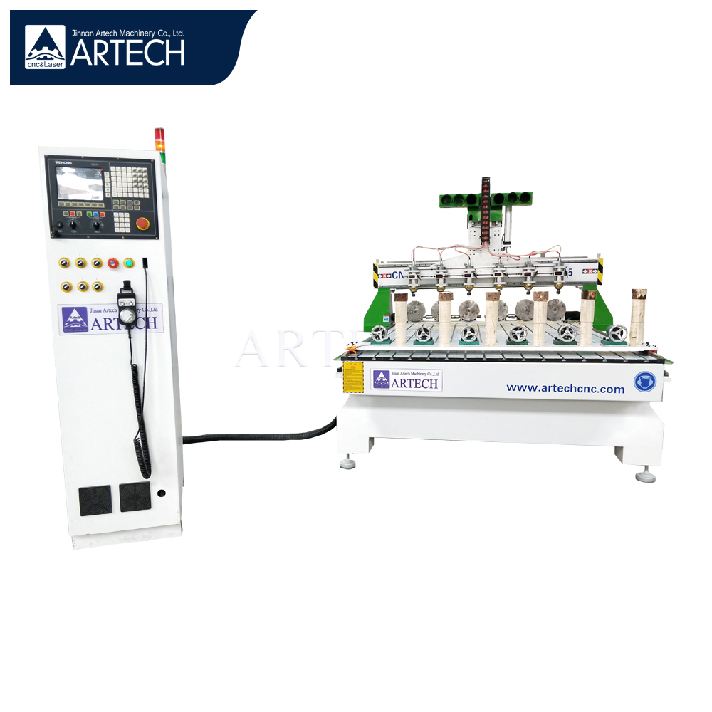 1625 cnc router 4 axis wood engraving machine price for furniture