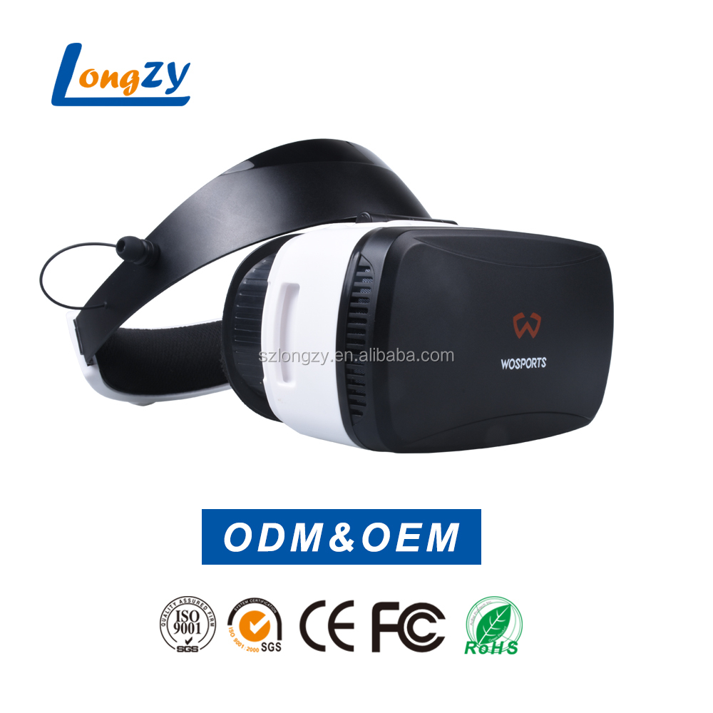 2017 Hot selling VR BOX + controller remote cases mobile phone sex video all in one