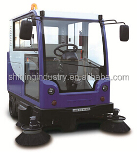 SIECC - China hot sale ride on sweeper, CE industrial street sweeper/airport road cleaning equipment/power broom sweeper